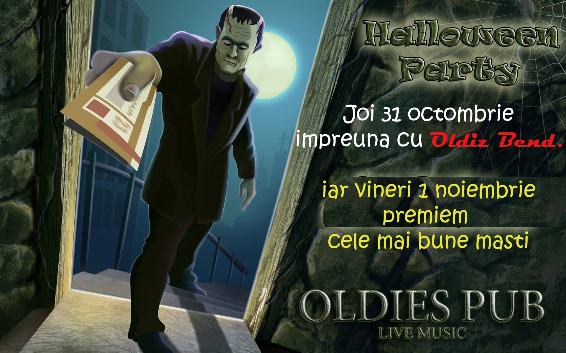 2 zile de HALLOWEEN PARTY