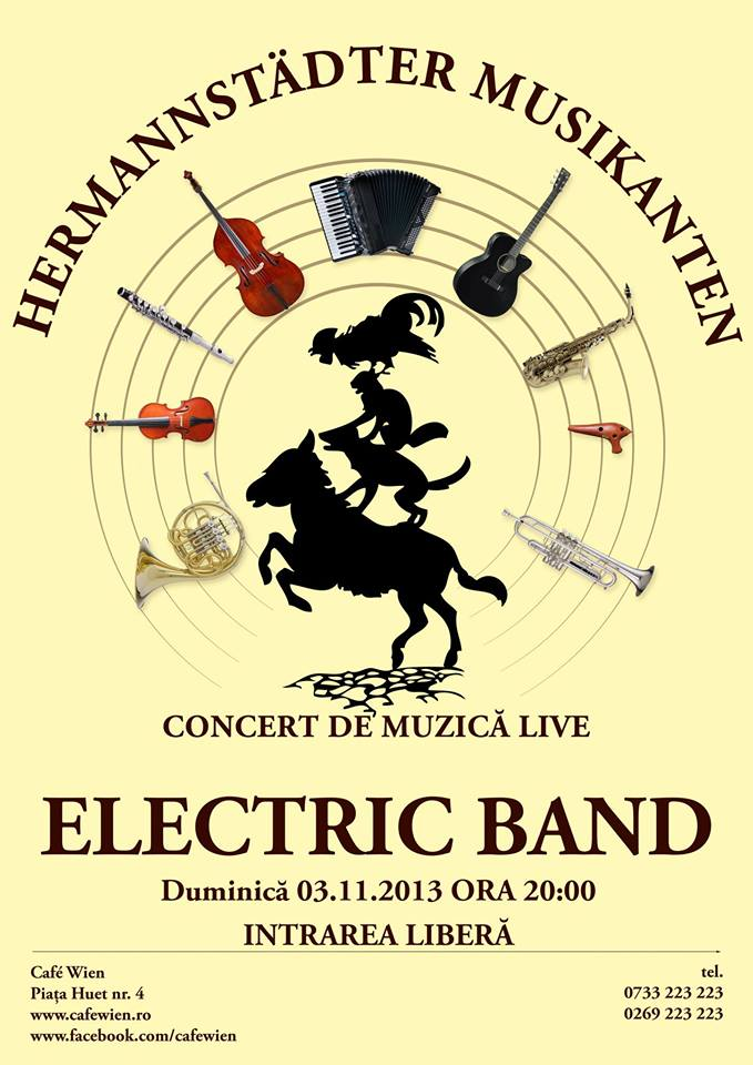 Electric Band in Cafe Wien