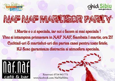 Naf Naf Martisor party
