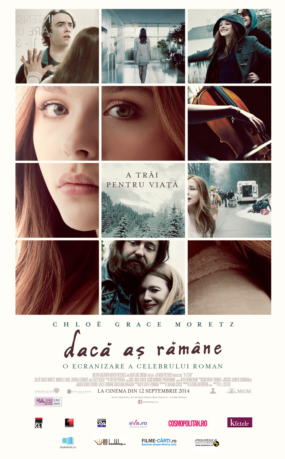 Daca as ramane / If I Stay (Premiera)