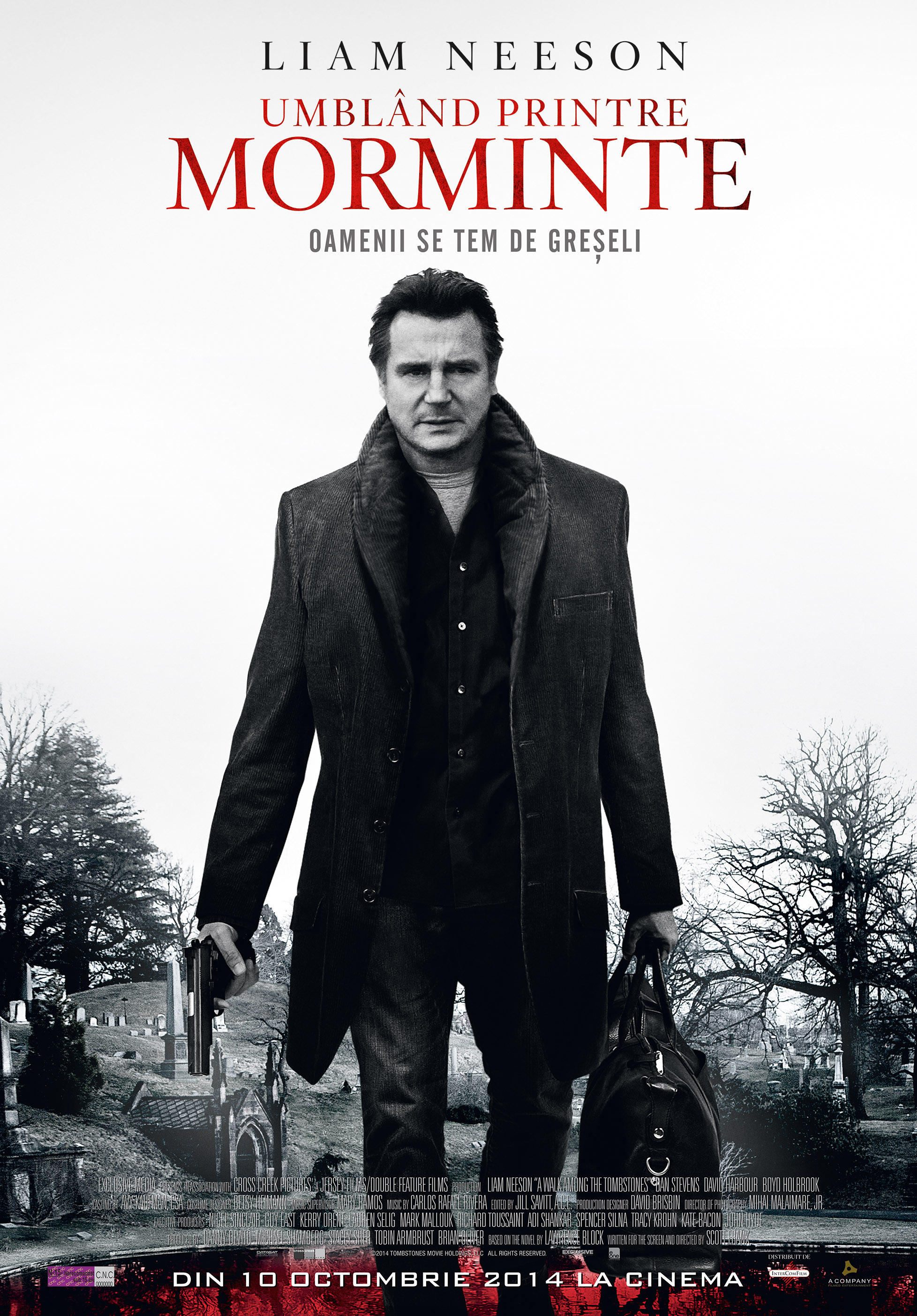 Umbland printre morminte / A Walk Among the Tombstones (Premiera)