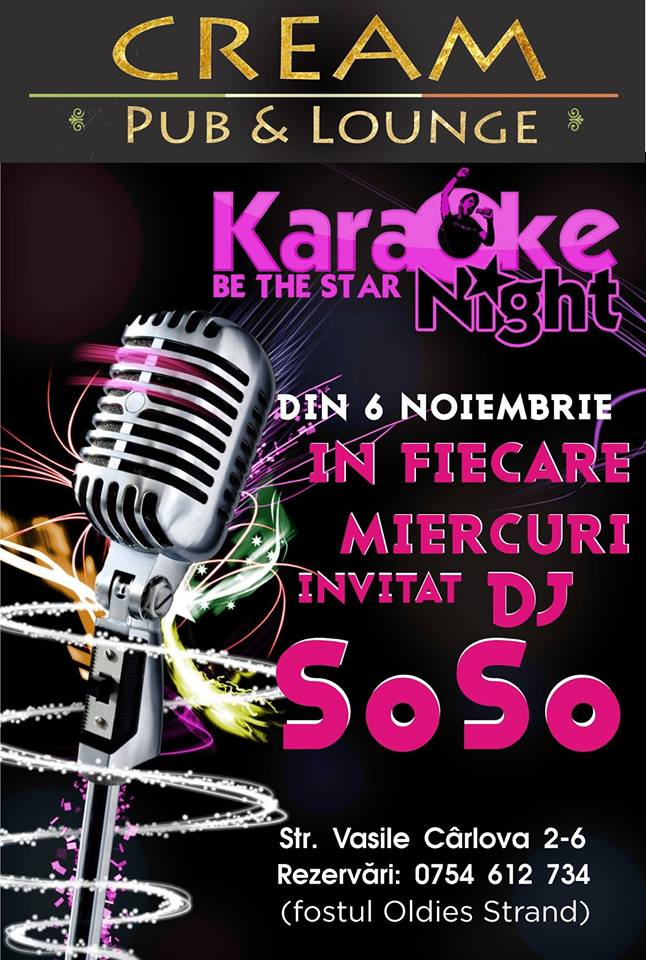 Karaoke in Cream Pub