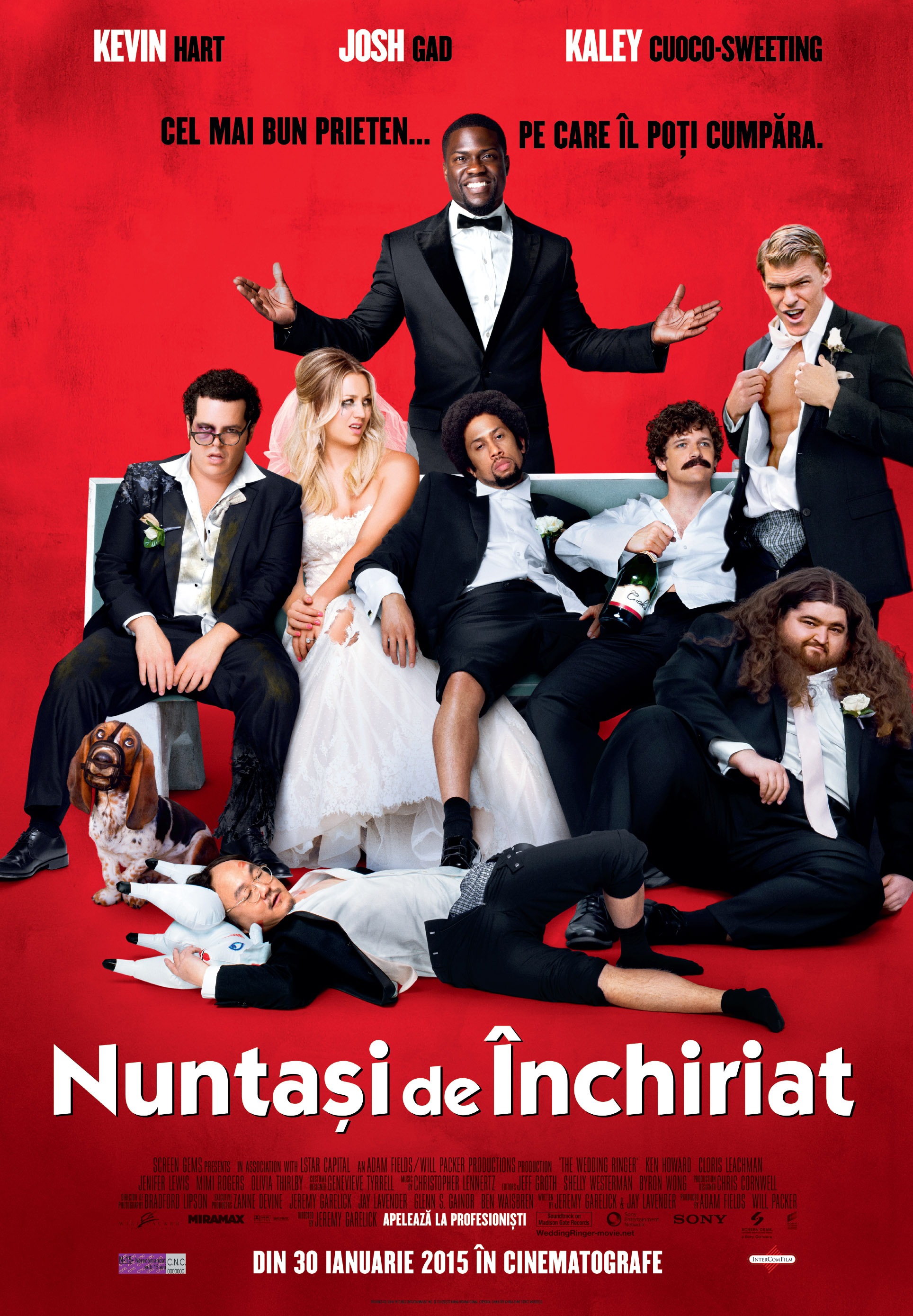 Nuntasi de inchiriat / The Wedding Ringer (Premiera)