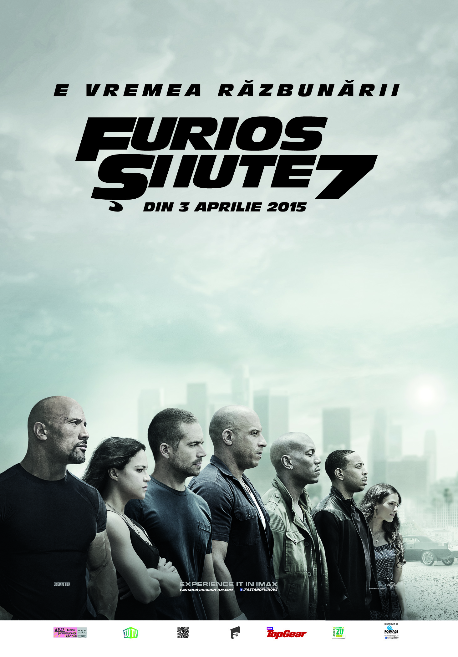 Furios si iute 7 / Fast and Furious 7 (Premiera)