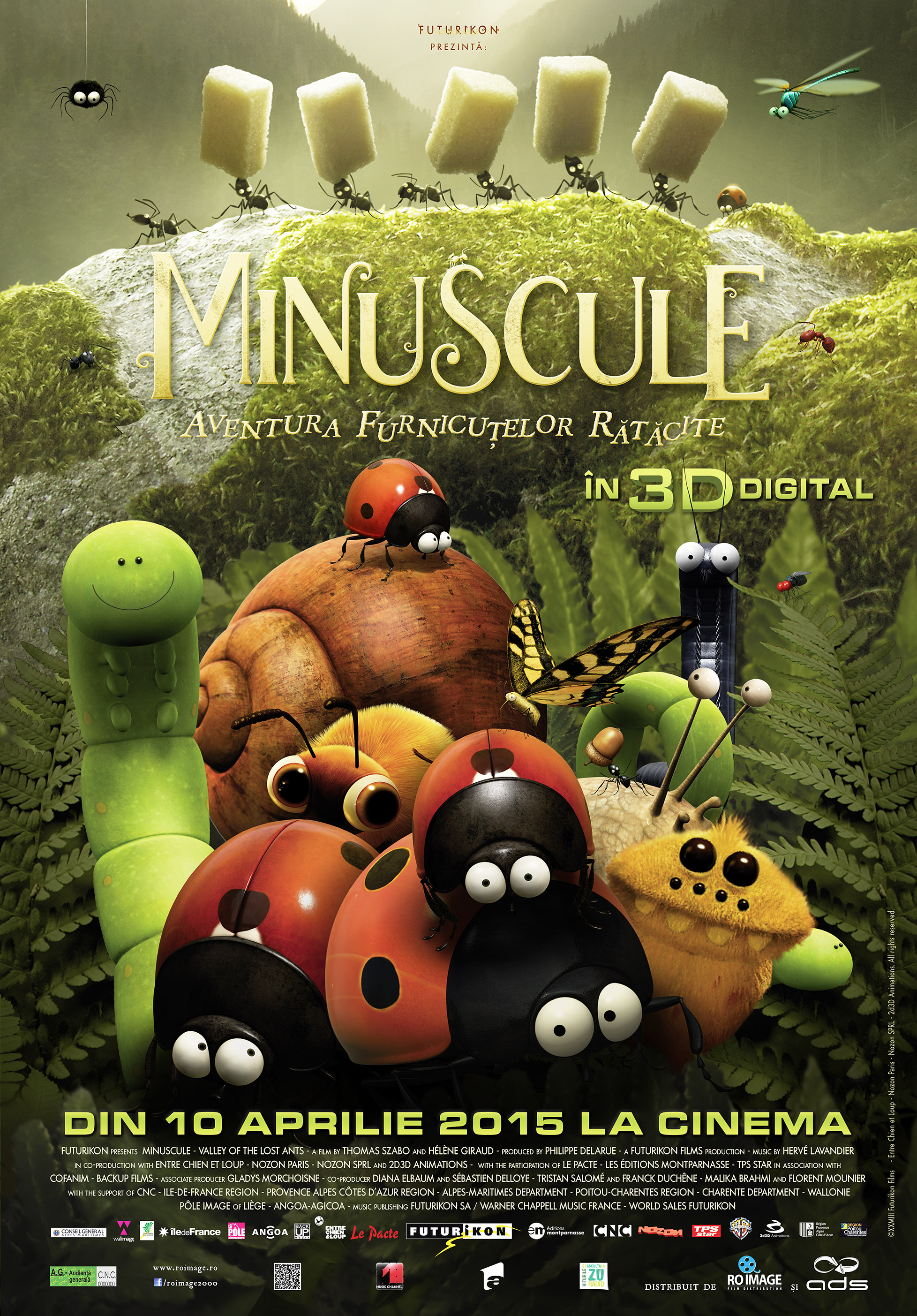Minuscule: Aventura furnicutelor ratacite – 3D Dublat / Minuscule: Valley of the Lost Ants - 3D (Premiera)