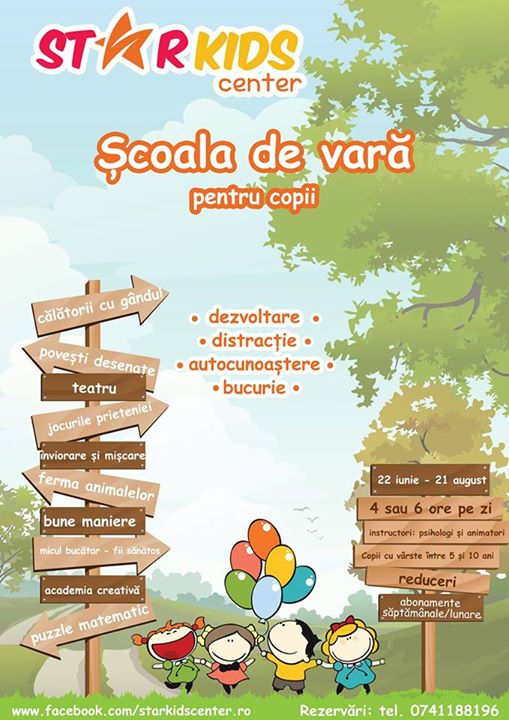 Școala de Vară Star Kids Center