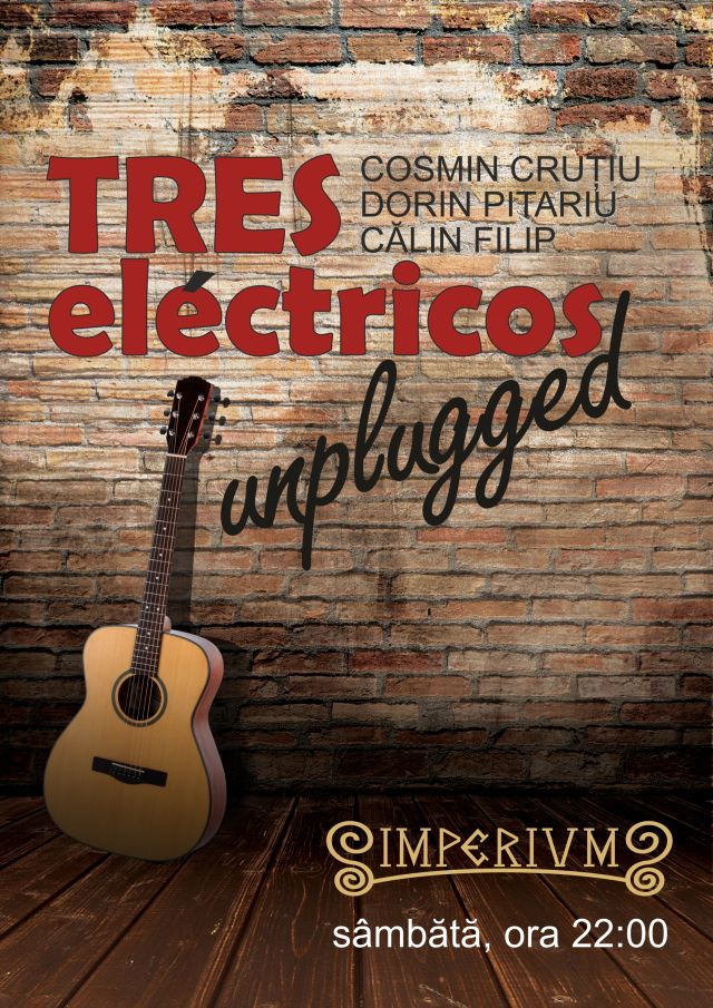 CONCERT TRES ELECTRICOS UNPLUGGED