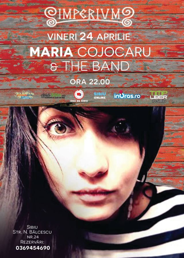 CONCERT MARIA COJOCARU& The BAND