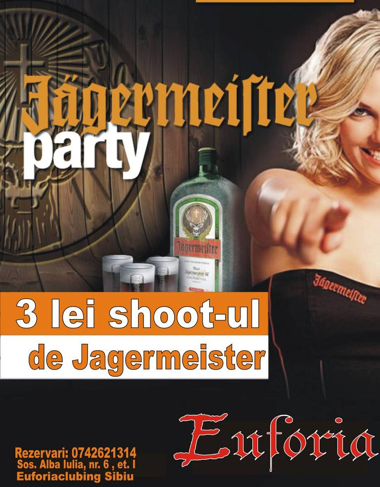 jagermister  party