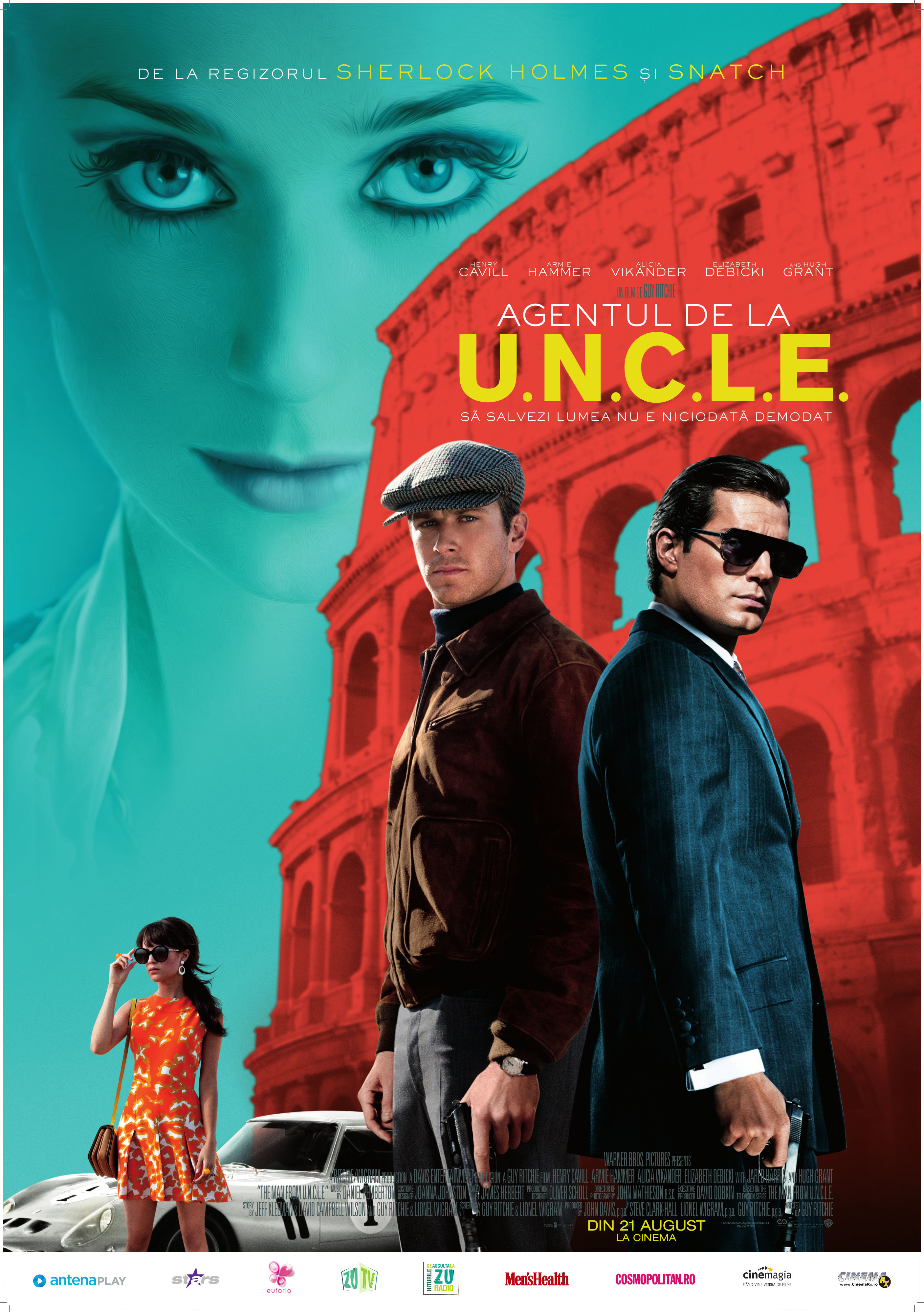 Agentul de la U.N.C.L.E. / The Man from U.N.C.L.E. (Premiera)