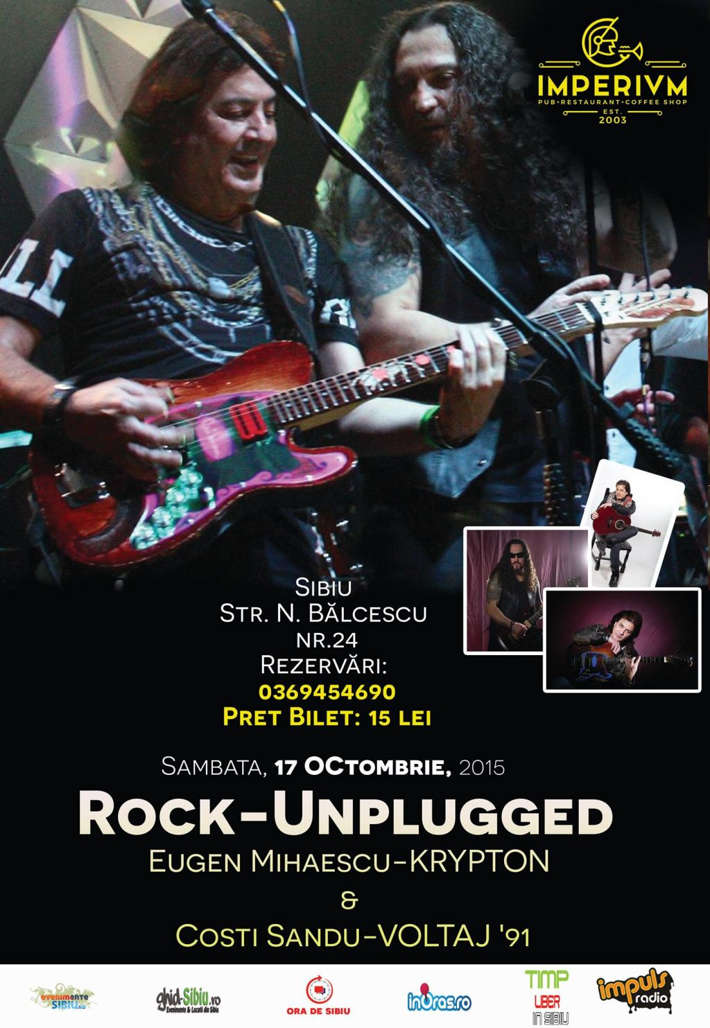 Rock-Unplugged - Eugen Mihaescu-KRYPTON si Costi Sandu-VOLTAJ '91""
