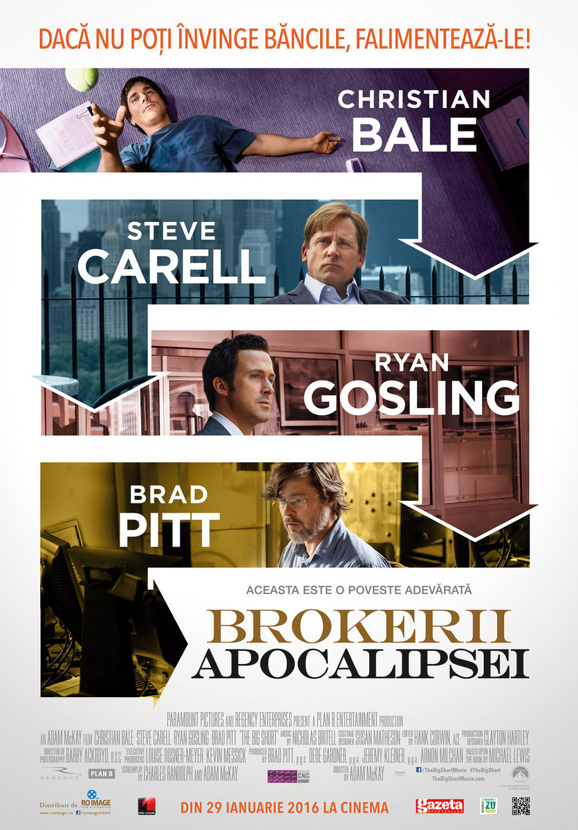 Brokerii Apocalipsei / The Big Short (Premiera)