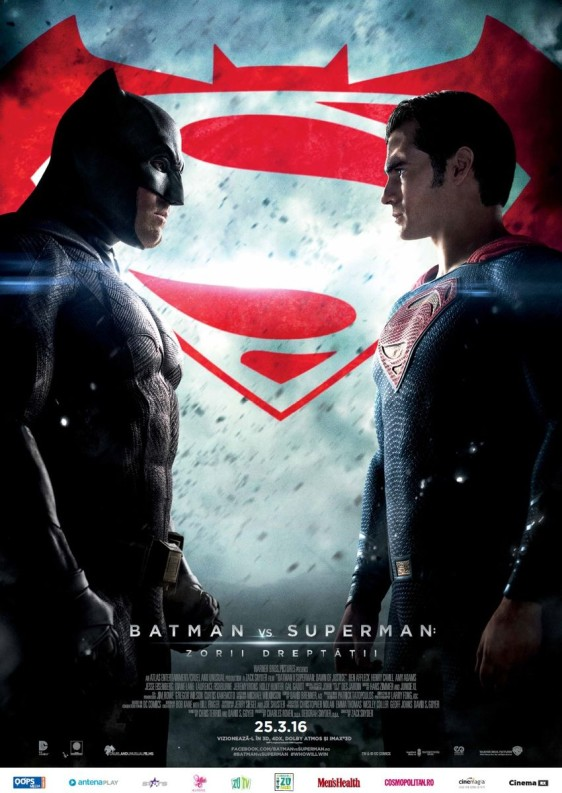 Batman Superman DawnOfJustice cinema