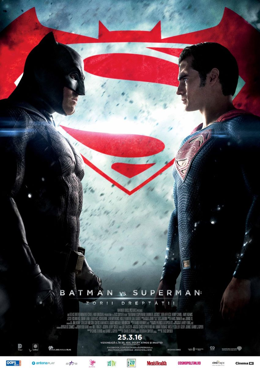 Batman vs. Superman: Zorii Dreptatii – 3D / Batman v Superman: Dawn of Justice – 3D (Avanpremiera)