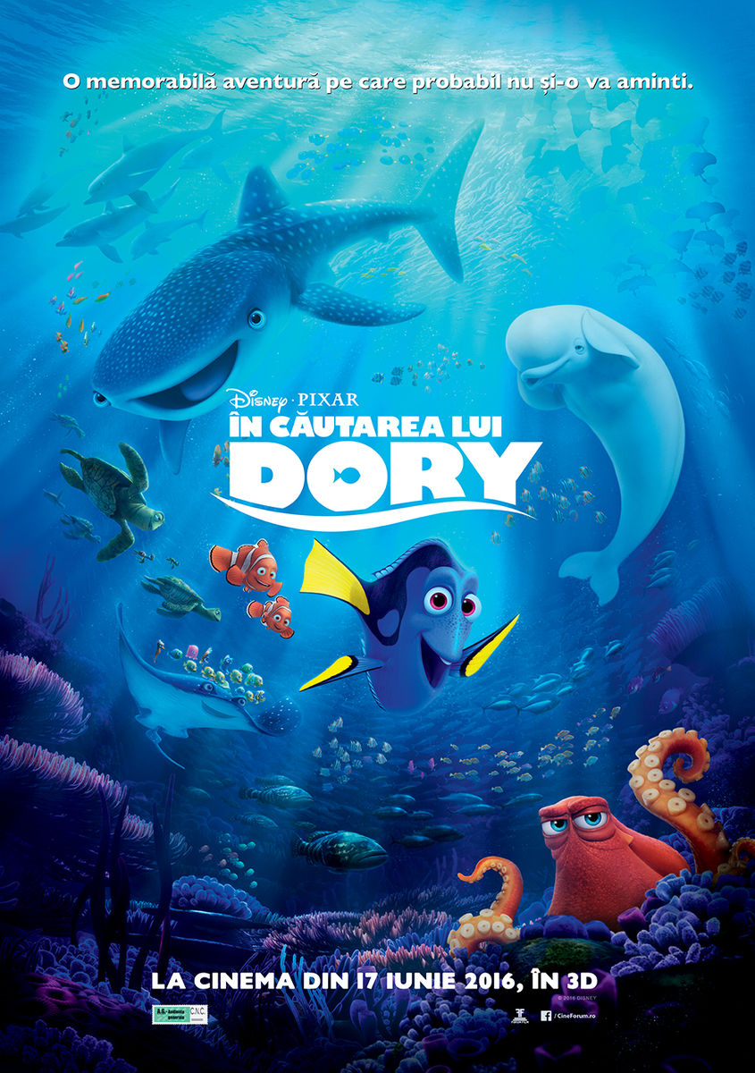 In cautarea lui Dory – 3D / Finding Dory – (3D Dublat)