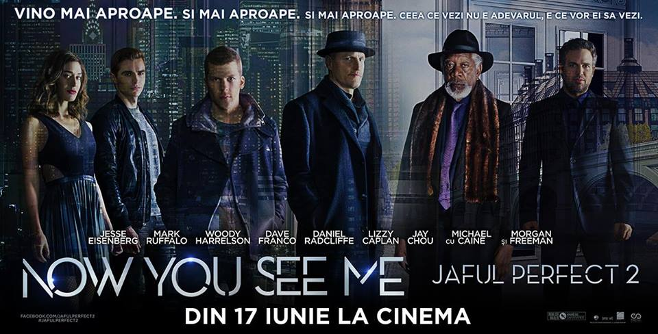 Now You See Me: Jaful perfect 2 / Now You See Me 2 (Premiera)