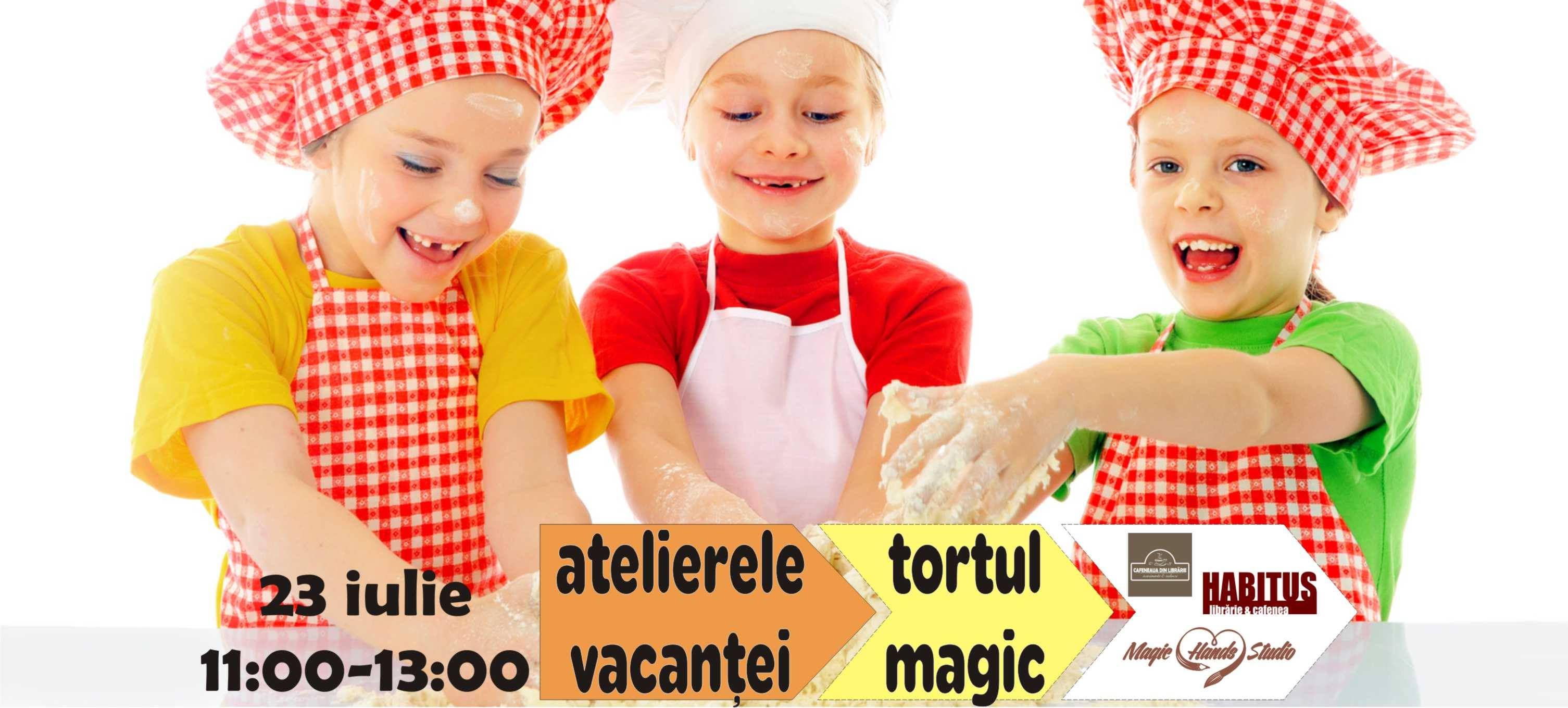 Atelierele vacanței - tortul magic