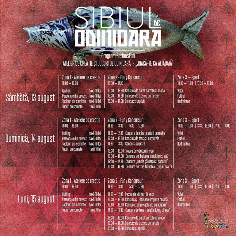 SIBIUL DE ODINIOARA - program 2