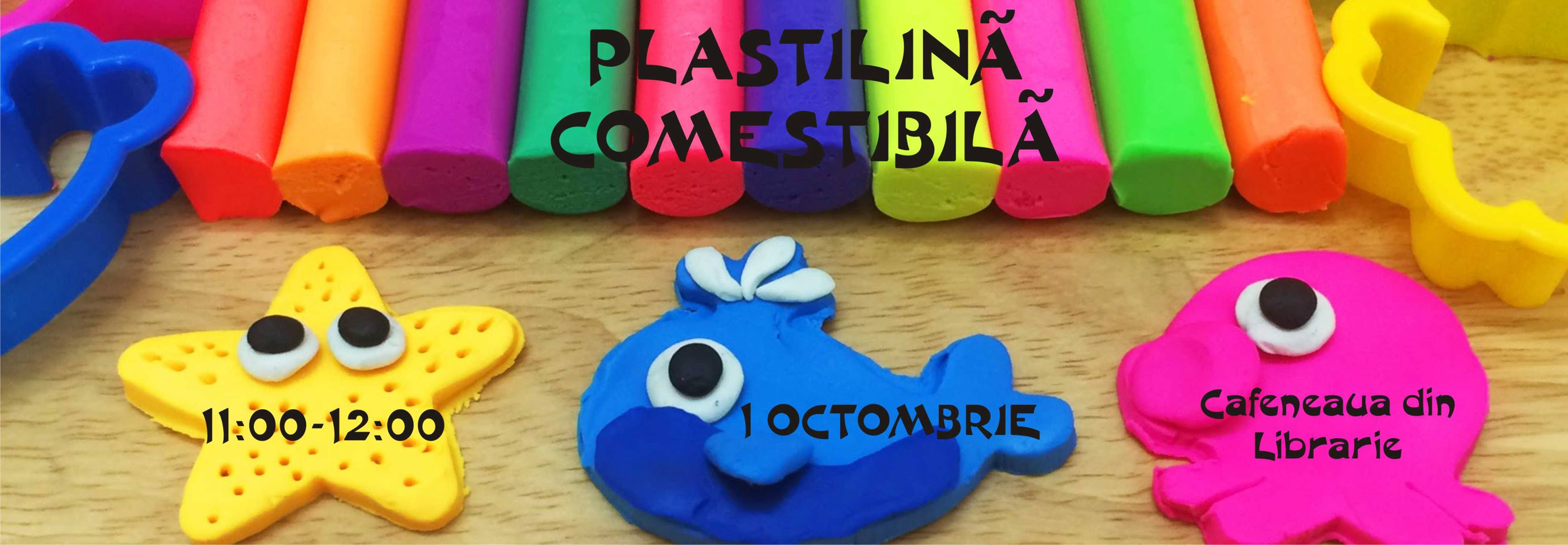 Plastilină comestibilă | Atelier Magic Hands Studio