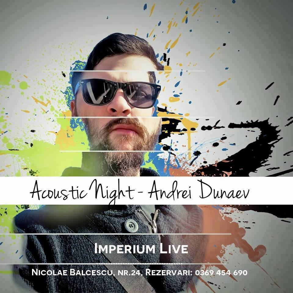 ANDREI DUNAEV ACOUSTIC NIGHT