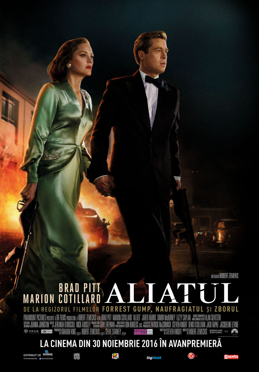 Aliatul / Allied (Premiera)
