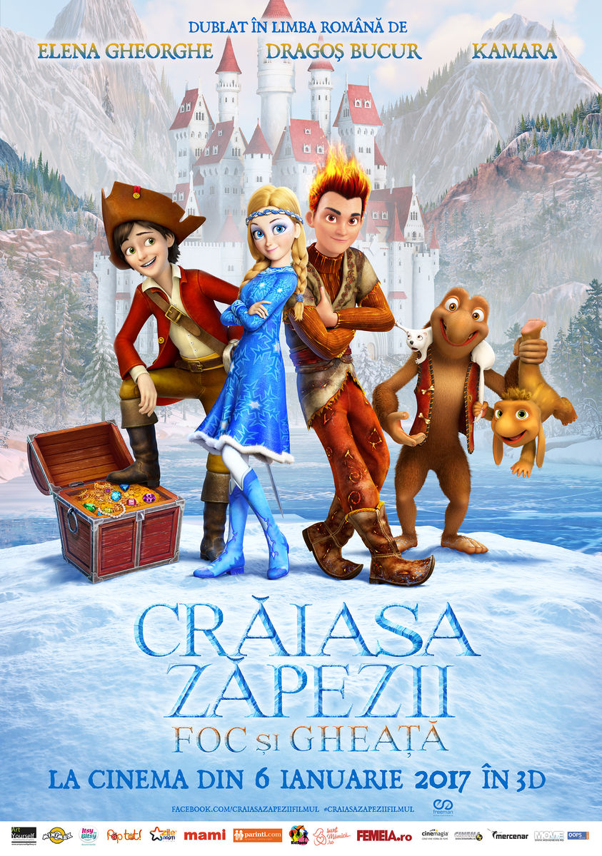 Craiasa Zapezii 3: Foc si Gheata – 3D Dublat / Snow Queen 3: Fire and Ice – 3D (Premiera)