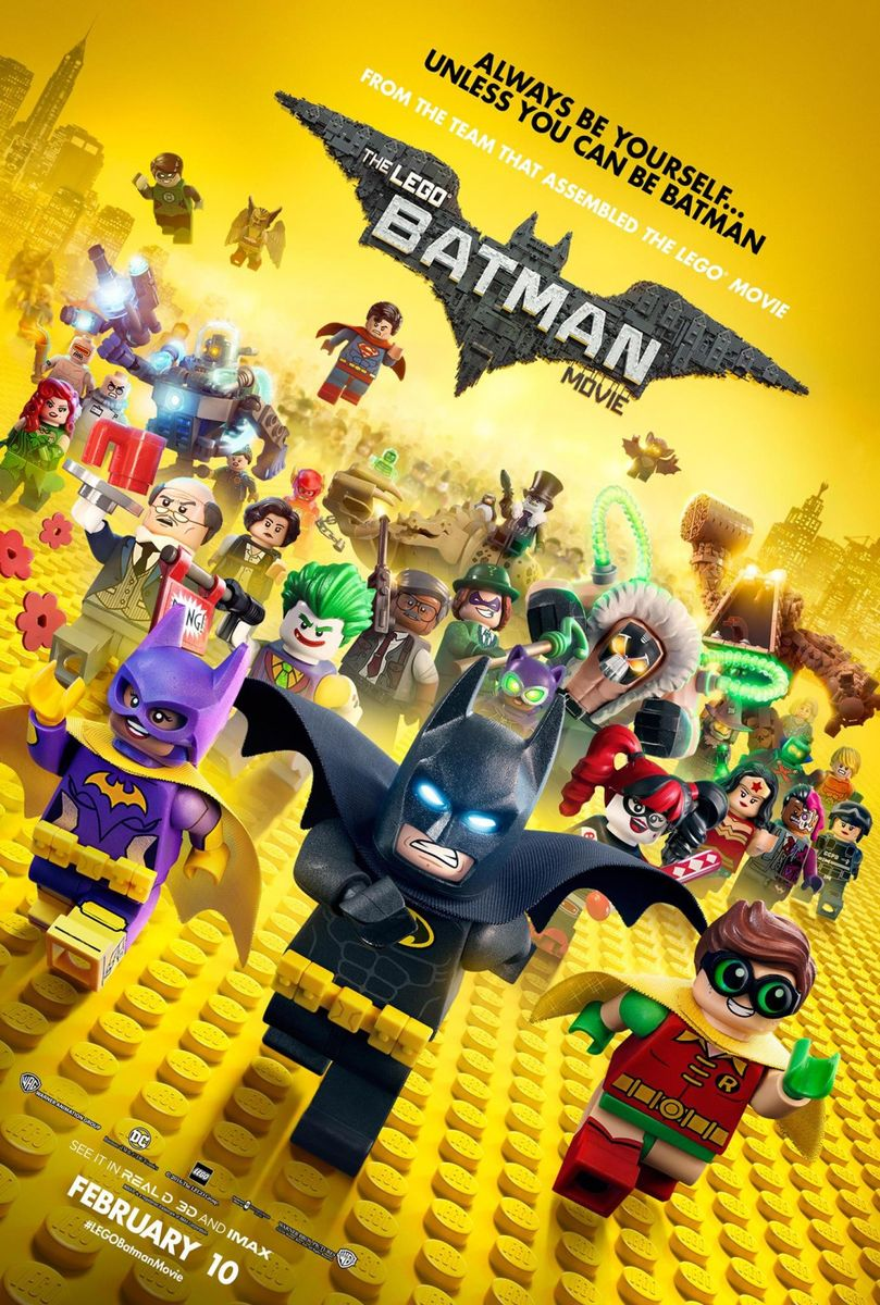 LEGO Batman: Filmul – 3D Dublat / The LEGO Batman Movie 3D