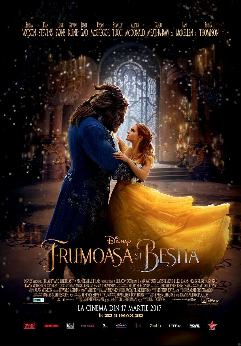 Frumoasa si Bestia – 3D / Beauty and the Beast – 3D (Premiera)