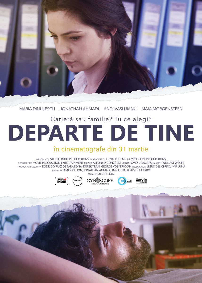 Departe de tine / Far from Here (r. James Pillion) (Premieră)