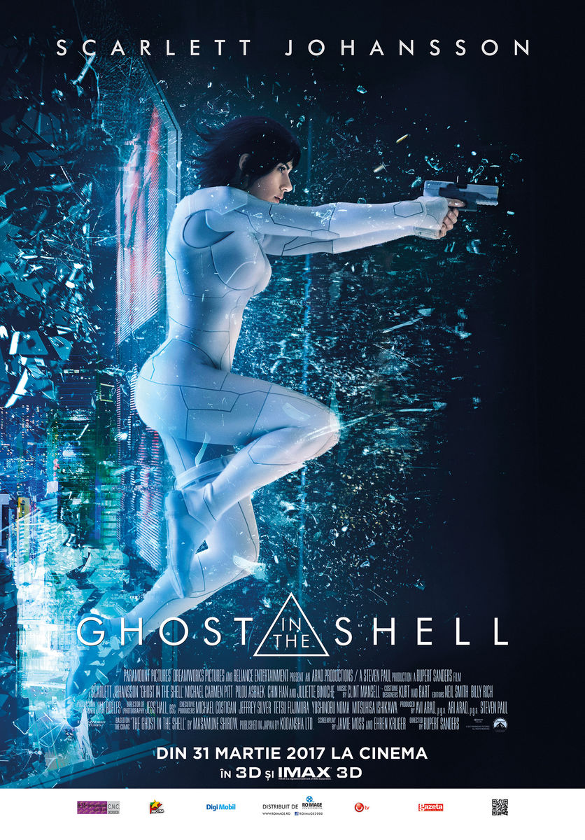 Ghost in the Shell – 3D (Premieră)