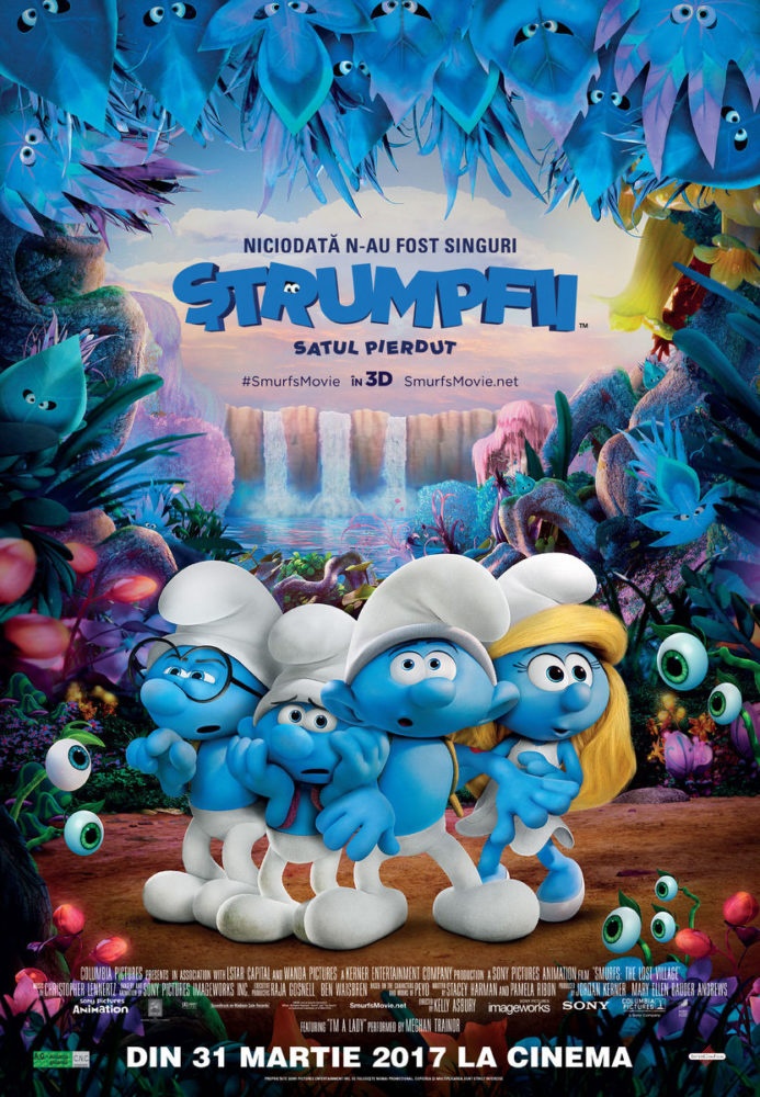 Smurfs TheLostVillage cinema sibiu