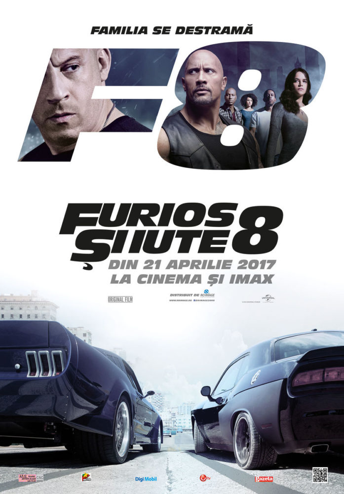 FastFurious8 cinema sibiu