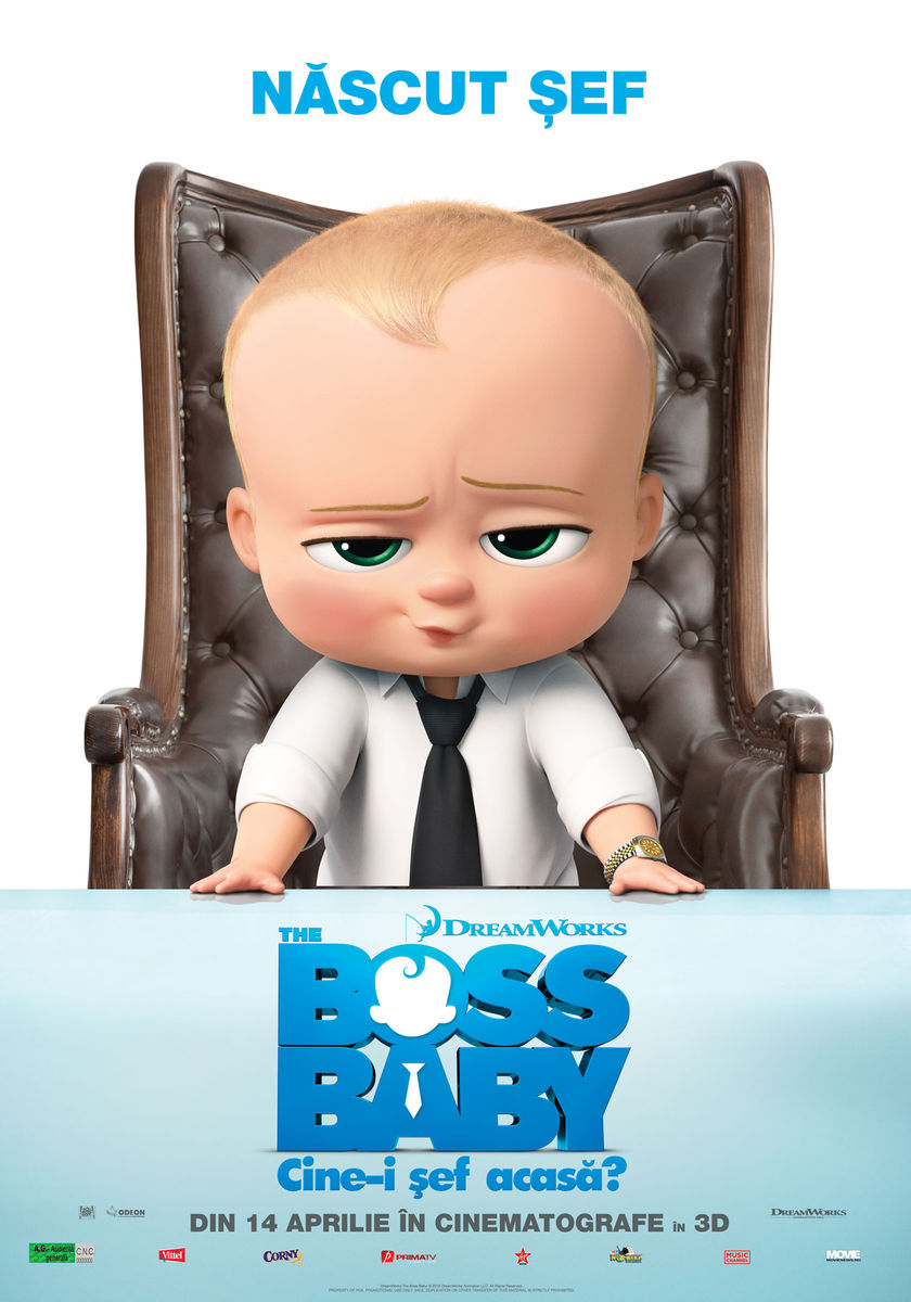 The Boss Baby: Cine-i şef acasă? – 3D / The Boss Baby