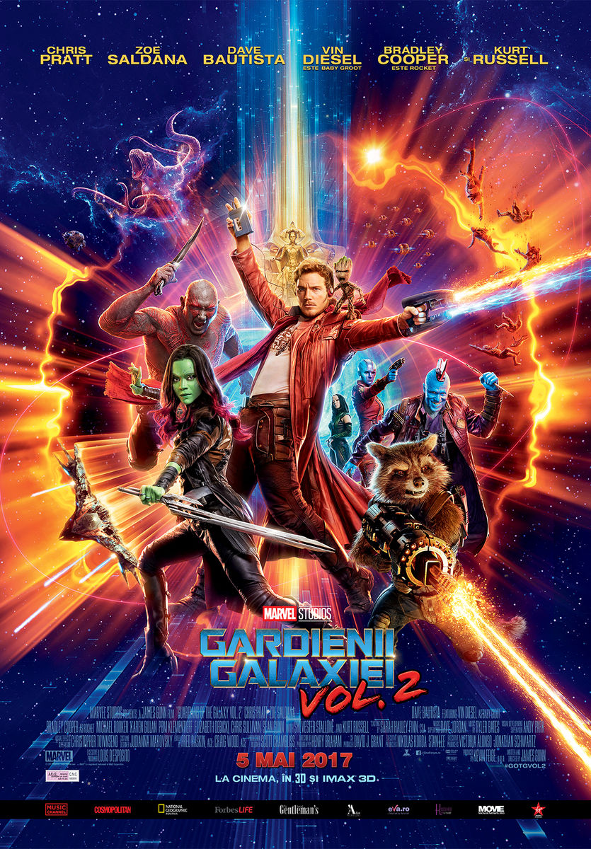 Gardienii Galaxiei: Vol. 2 – 3D / Guardians of the Galaxy: Vol. 2 (Premieră)