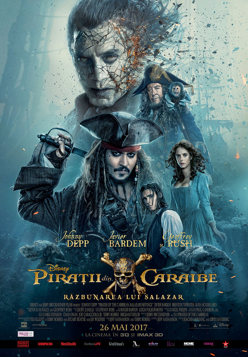 Piraţii din Caraibe: Răzbunarea lui Salazar – 3D / Pirates of the Caribbean: Dead Men Tell No Tales - 3D