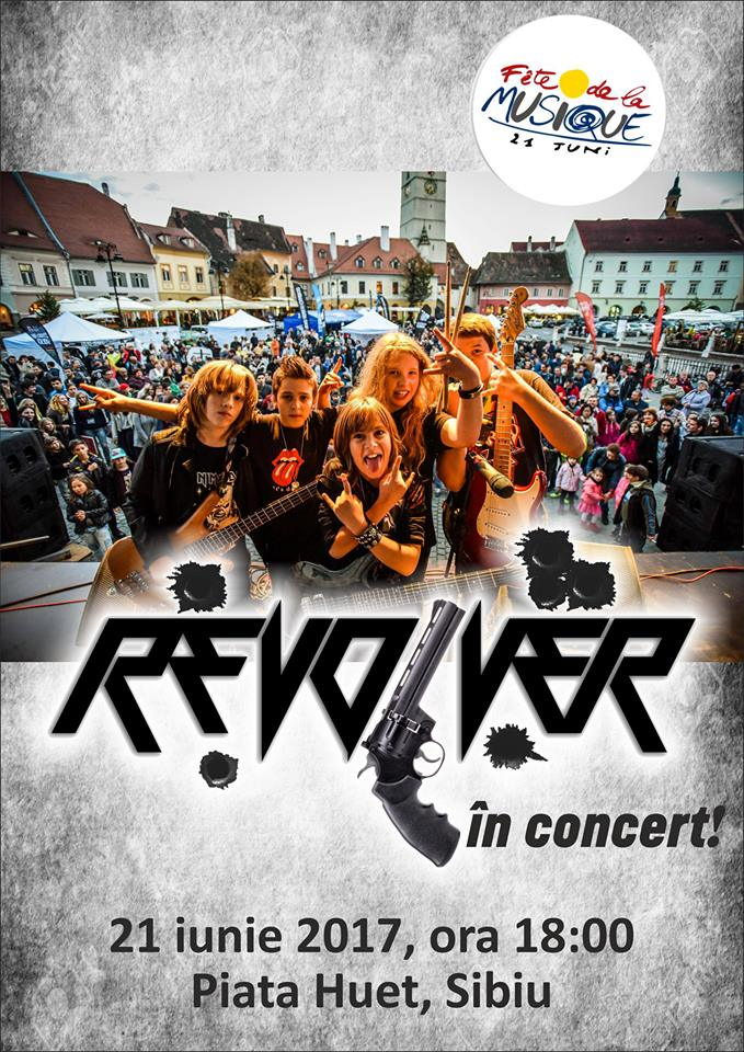 "Revolver in concert at ""Fete de la Musique"" Sibiu"