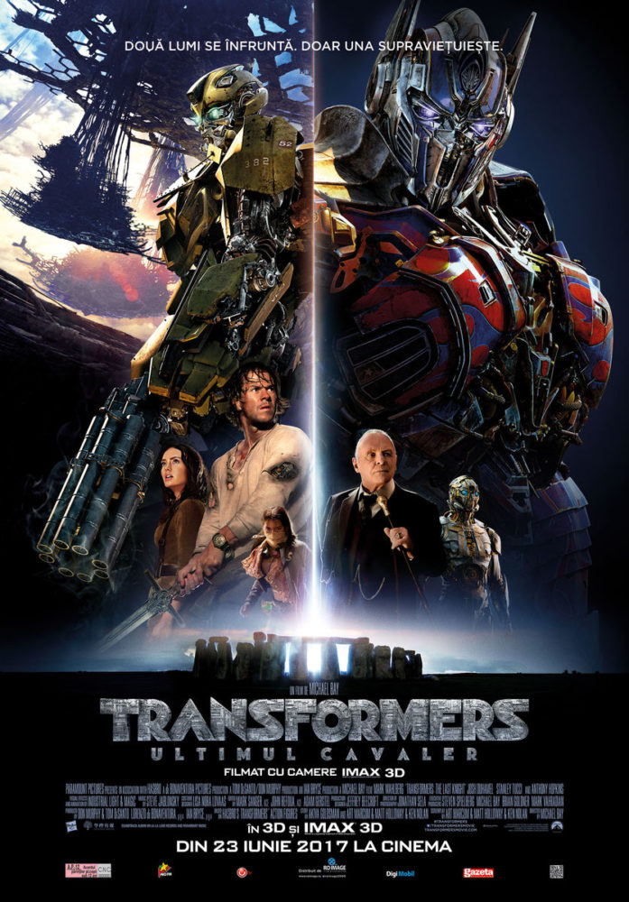 Transformers TheLastKnight cinema sibiu