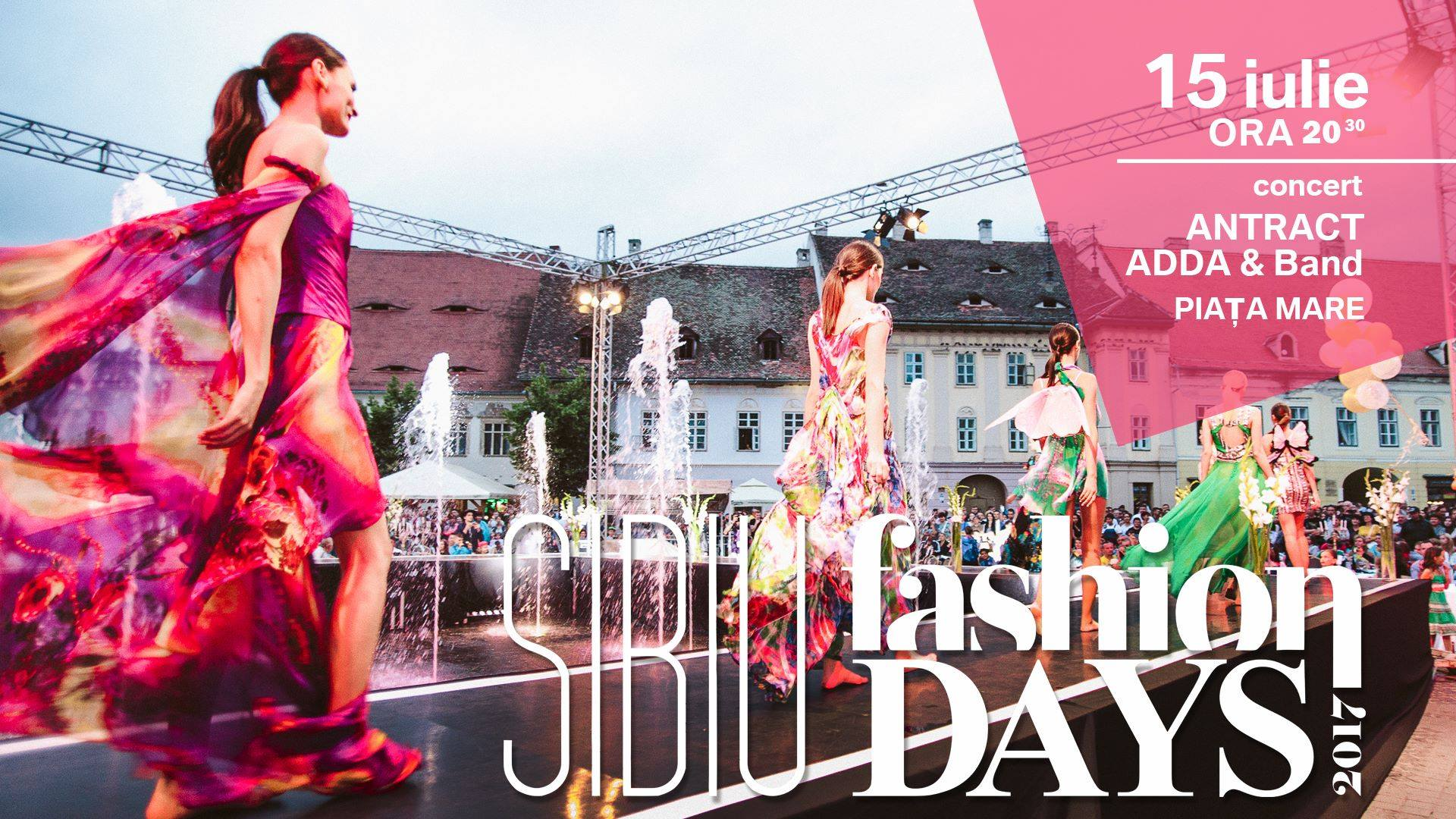 Concert Antract la Sibiu Fashion Days