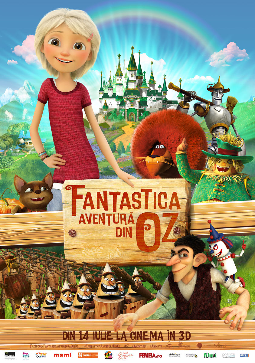 Fantastica aventură din Oz – 3D Dublat / Urfin and His Wooden Soldiers / Fantastic Journey to Oz / Urfin Dzhyus i ego derevyannye soldaty (Premieră)