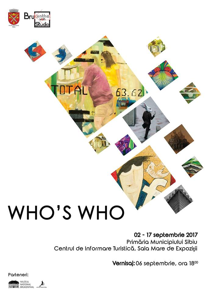 Expoziție: WHO'S WHO