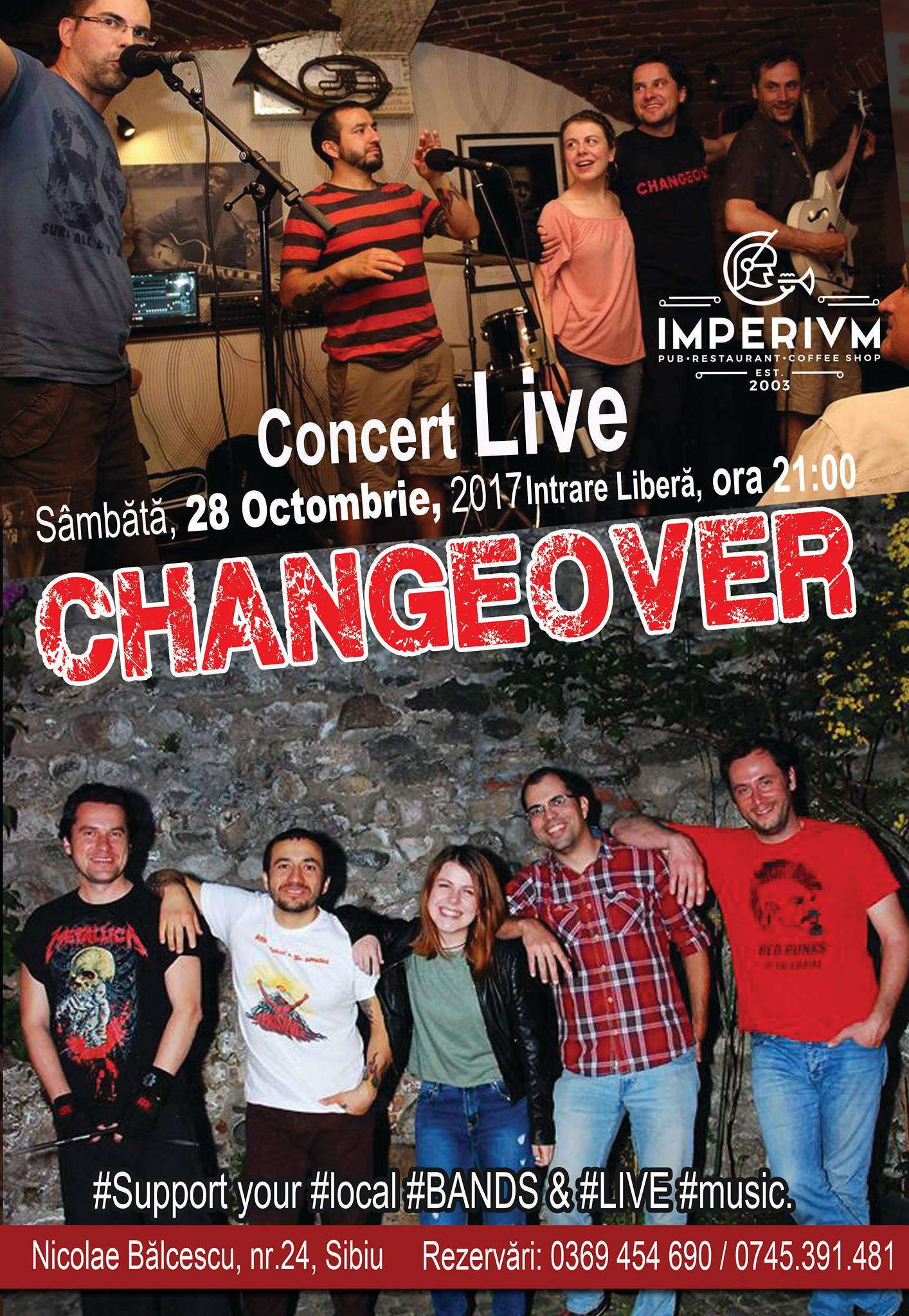 Changeover - LIVE music at Imperium Live