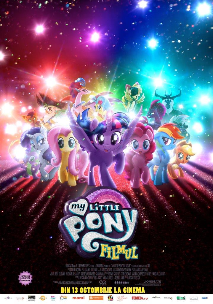 My Little Pony: Filmul – 2D Dublat / My Little Pony: The Movie