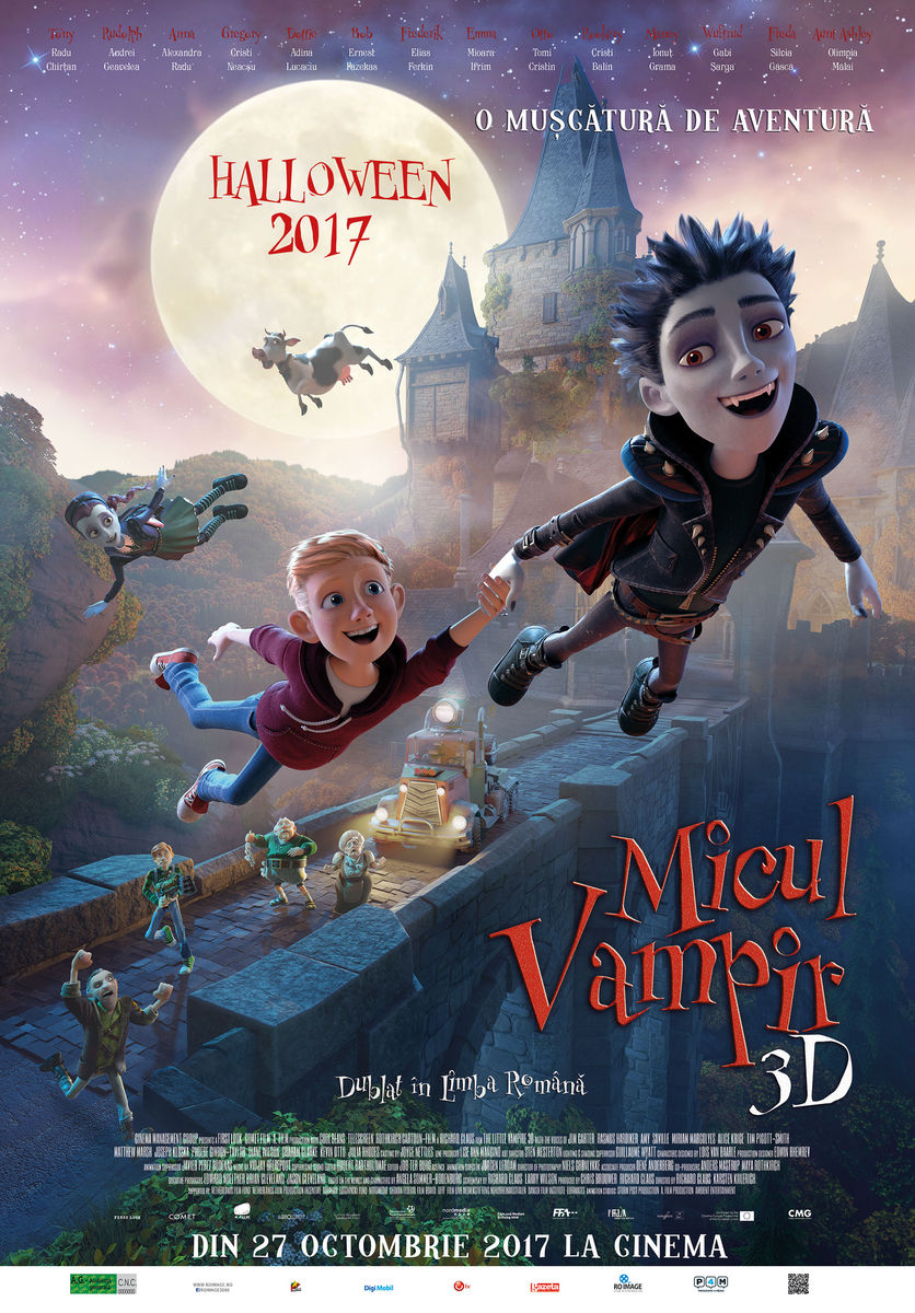 Micul Vampir – 3D Dublat / The Little Vampire