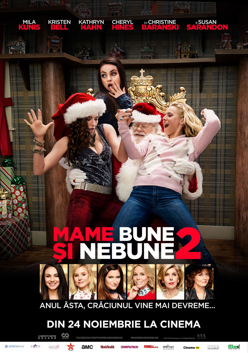 Mame bune şi nebune 2 / A Bad Moms Christmas
