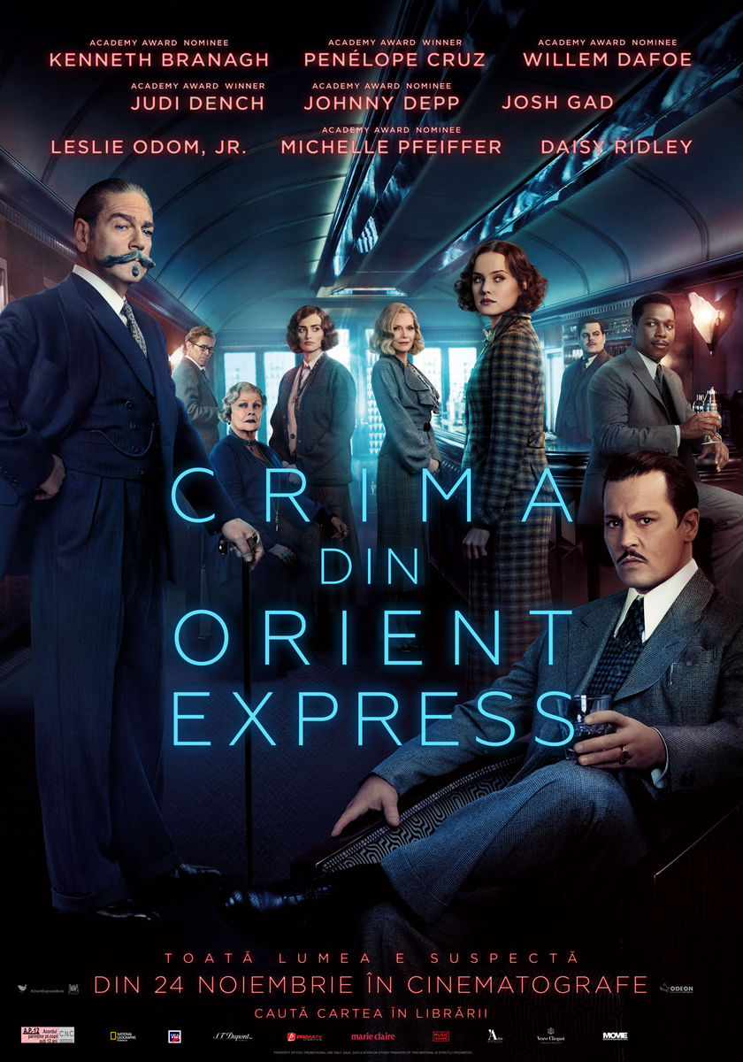 Crima din Orient Express / Murder on the Orient Express (Premieră)