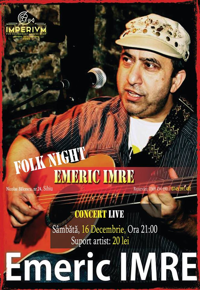 Emeric Imre - Folk Night