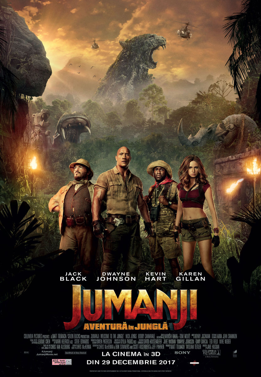 Jumanji: Aventură în junglă – 3D / Jumanji: Welcome to the Jungle