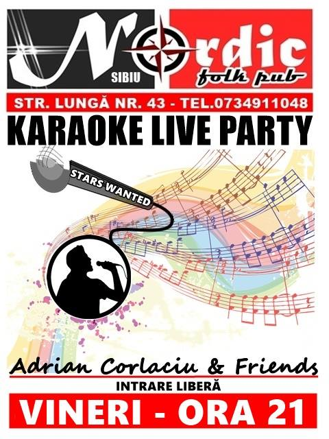 Karaoke Live Party - Adrian Corlaciu & Friends.