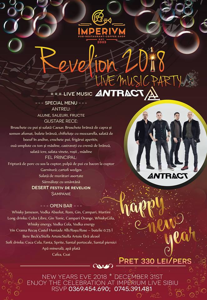 Revelion 2018 - Live Music PARTY