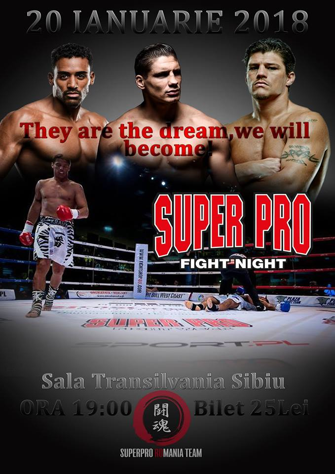 Gala de Kick-Boxing SUPER PRO Fight Night